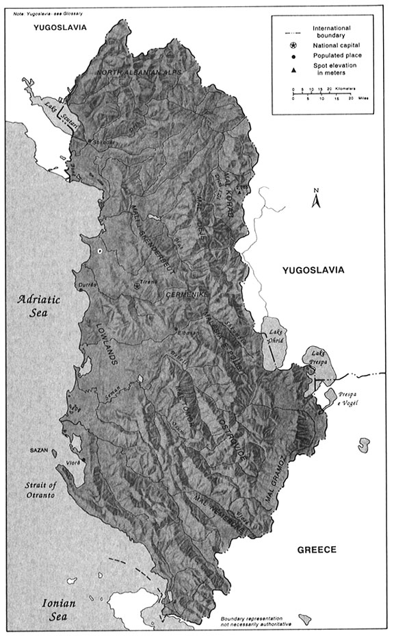 Albania : a country study - Internet Archive