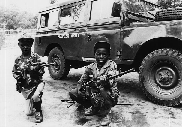 Uganda THE ARMED FORCES IN SOCIETY - Flags, Maps, Economy ...