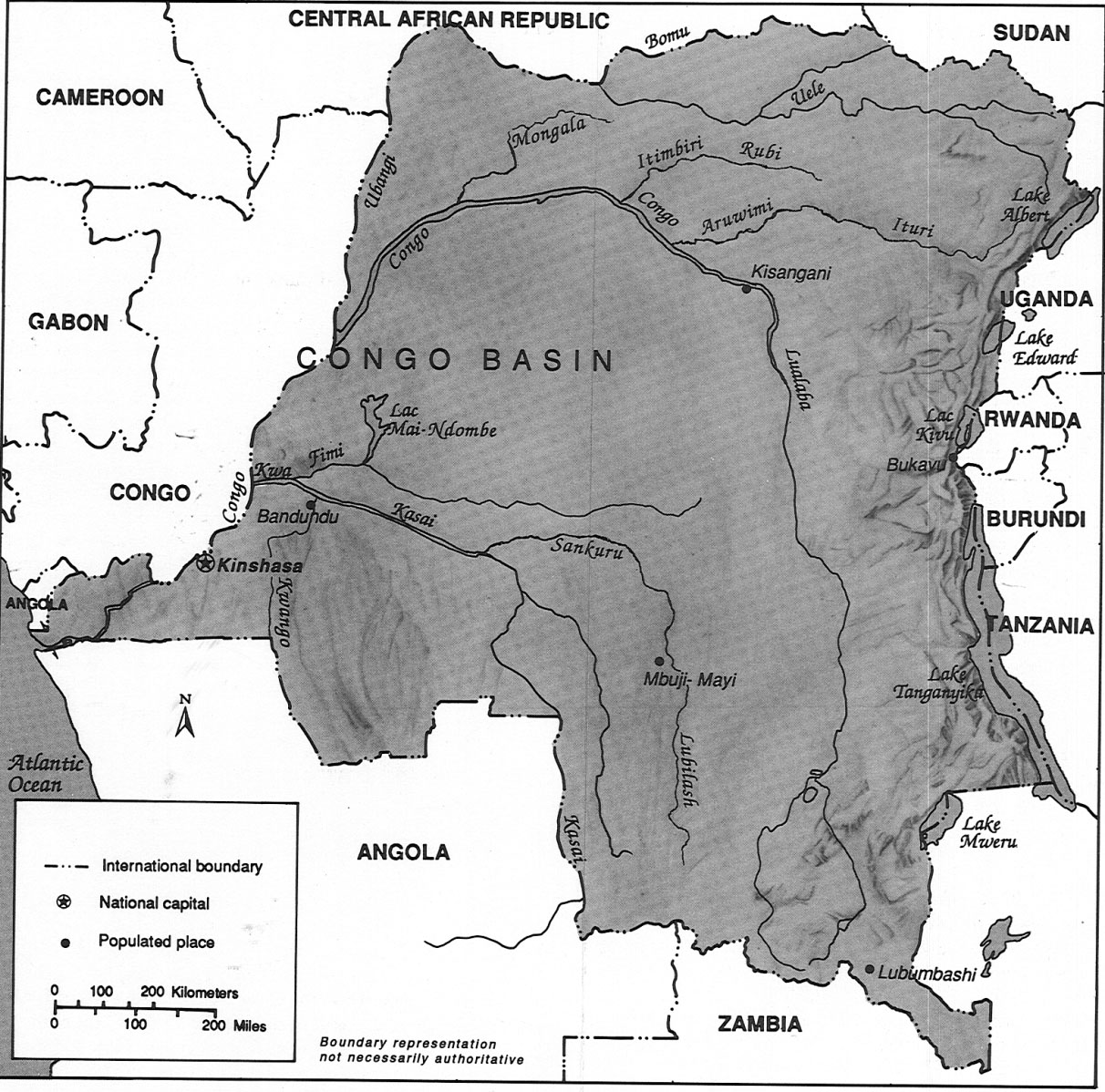 an introduction to the geography of the congo basin